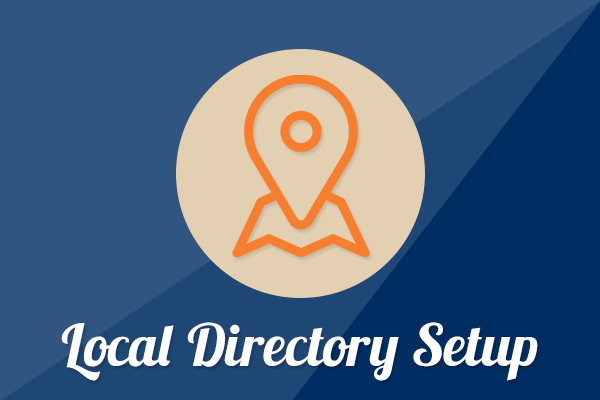 local directory setup